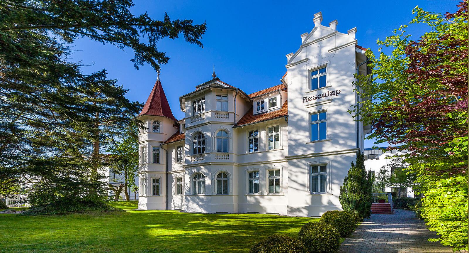 Villa Aesculap - Ferienwohnungen in Binz